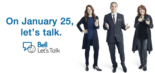 Support mental health on Bell Let's Talk Day