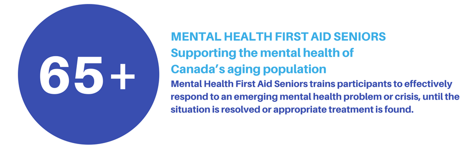 Mental Health First Aid Seniors Cmha Alberta Division