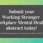 Submit your Workplace Mental Health abstract today!