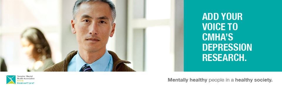 Add your voice to CMHA's depression research