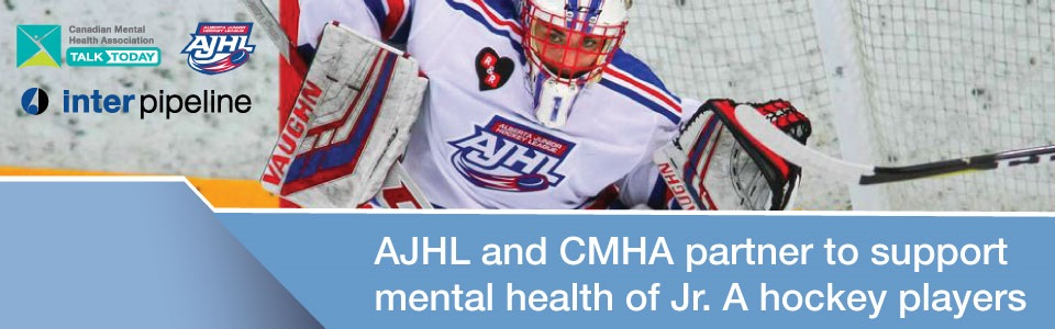 Alberta Junior Hockey League Partners with Canadian Mental Health Association in Alberta on Talk Today Program